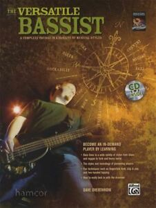 Details about The Versatile Bassist Bass Guitar TAB Book/CD Learn Different  Styles