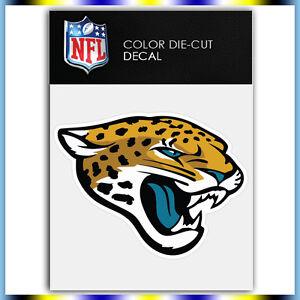 ca7a1871 Details about Jacksonville Jaguars Logo NFL Die Cut Vinyl Sticker Car  Bumper Window 3.1