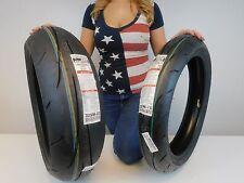 New  Dunlop Q3 Sportmax Tire pair 190/50zr17 120/70zr17 120/70-17 190/50-17 Set