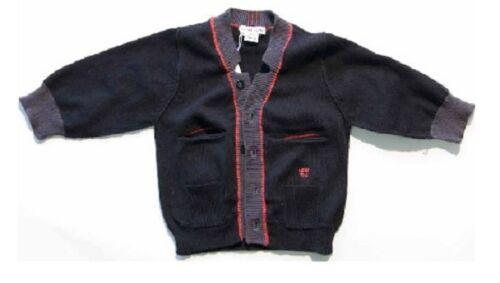 NWT Eliane et Lena Buckingham boys Sweater cardigan 2y 3y 4y 5y 6y style 34G04