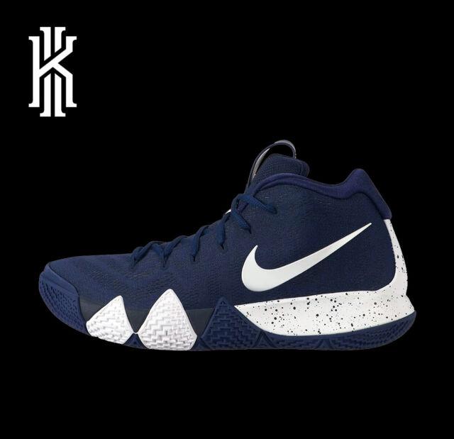 72bac07a7bd Nike Kyrie Irving 4 Men's Av2296 402 Midnight Navy White Bank ...