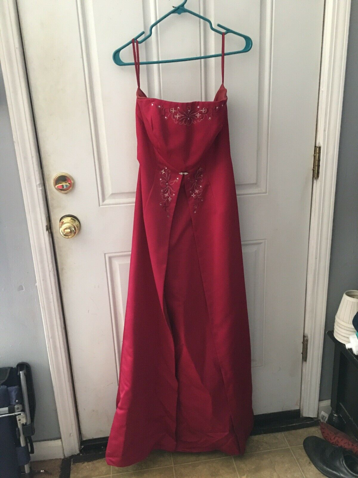 Burgundy Formal Size 10 Very good condition