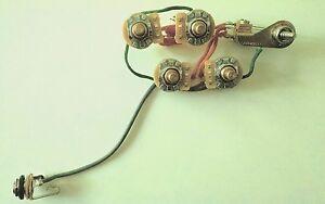 rickenbacker 4001s 4003s bass wiring harness mono ebay