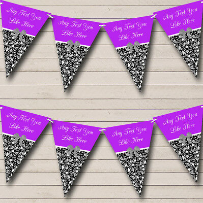 Birdcage Vintage Floral Personalised Shabby Chic Garden Tea Party Bunting