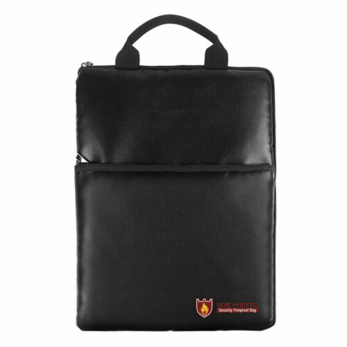 Fireproof Bag Explosion-proof  Document Battery Cash office Handbag With 7 Types