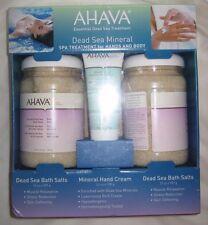 AHAVA Dead Sea Mineral Spa Treatment for Hands & Body /  Bath Salts & Hand Cream