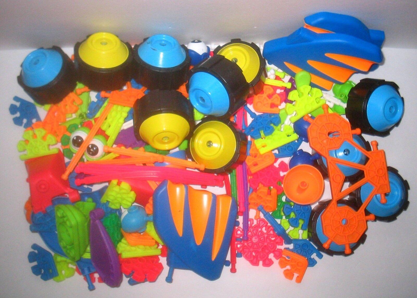 Preschool Building Toy Kid K'NEX Knex 180 Parts & Pieces