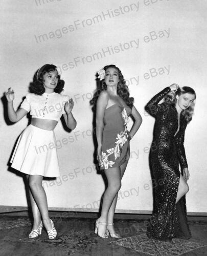 8x10 Print Dorothy Lamour Paulette Goddard Veronica Lake 1942 #DL13