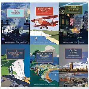 British-Library-Crime-Classics-Series-2-Collection-6-Books-Set-The-Z-Murders-New