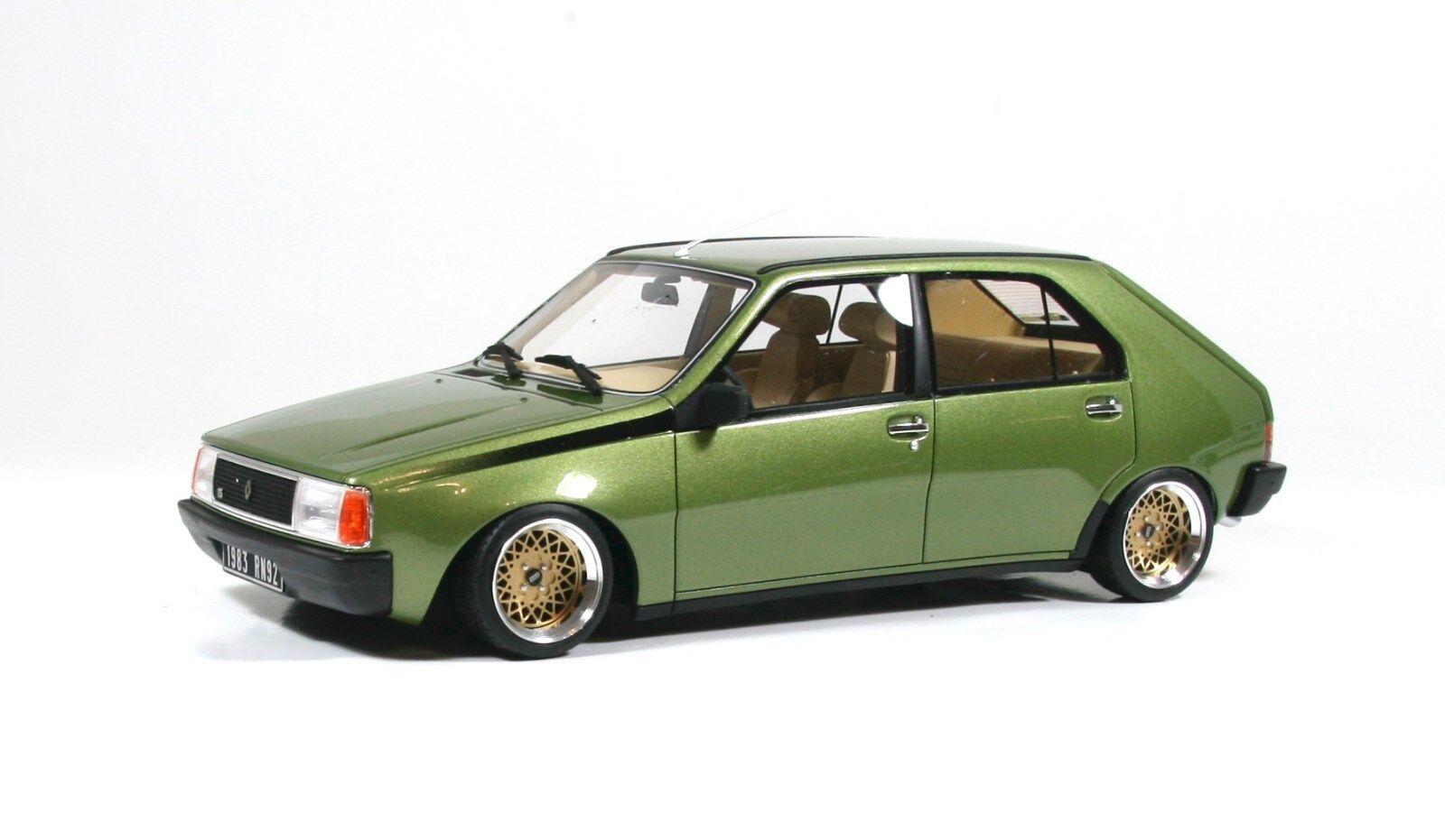 Renault 14 TS grünmetallic, BBS E30 Alufelgen 13 Zoll Umbau  1 18