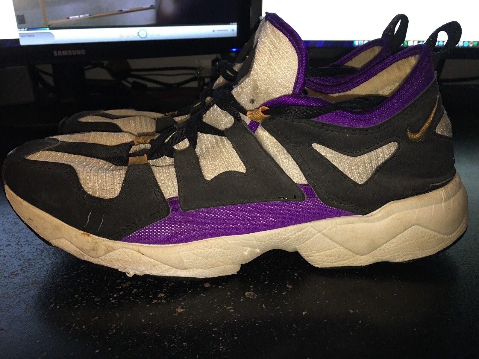 Gli uomini sono nike air zoom lwp (1995) (bianco / nero / viola) dimensioni in scarpe da ginnastica