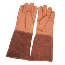 Nutley/'s Leather Bramble Gauntlet Gloves Gardening Heavy Duty Thornproof