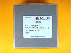 """Janos Technology A1405V543 Optical Glass UVCAF2 PL/PL D150.8 CT 5 2""""Dia"""