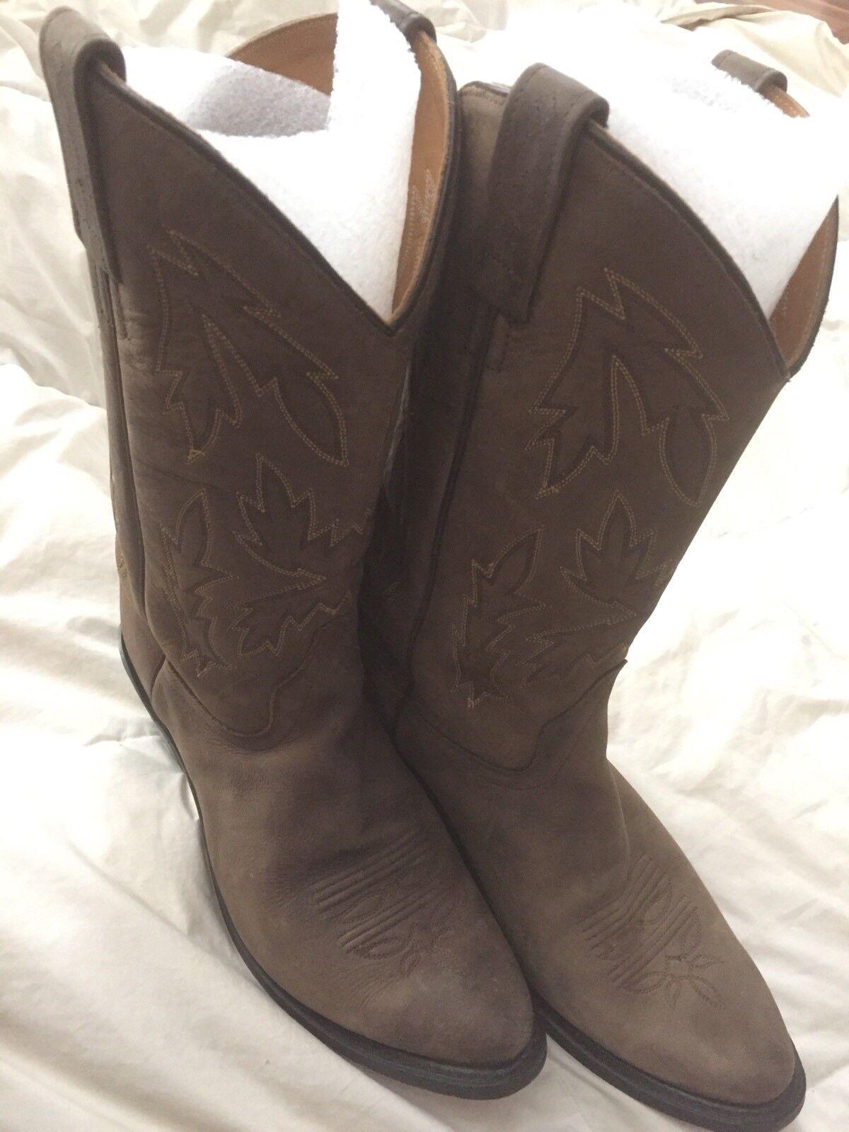 Old Old Old West OW2051L Damas polanil occidental de cuero botas Apache Punta rojoondeada Eje 11   barato en alta calidad
