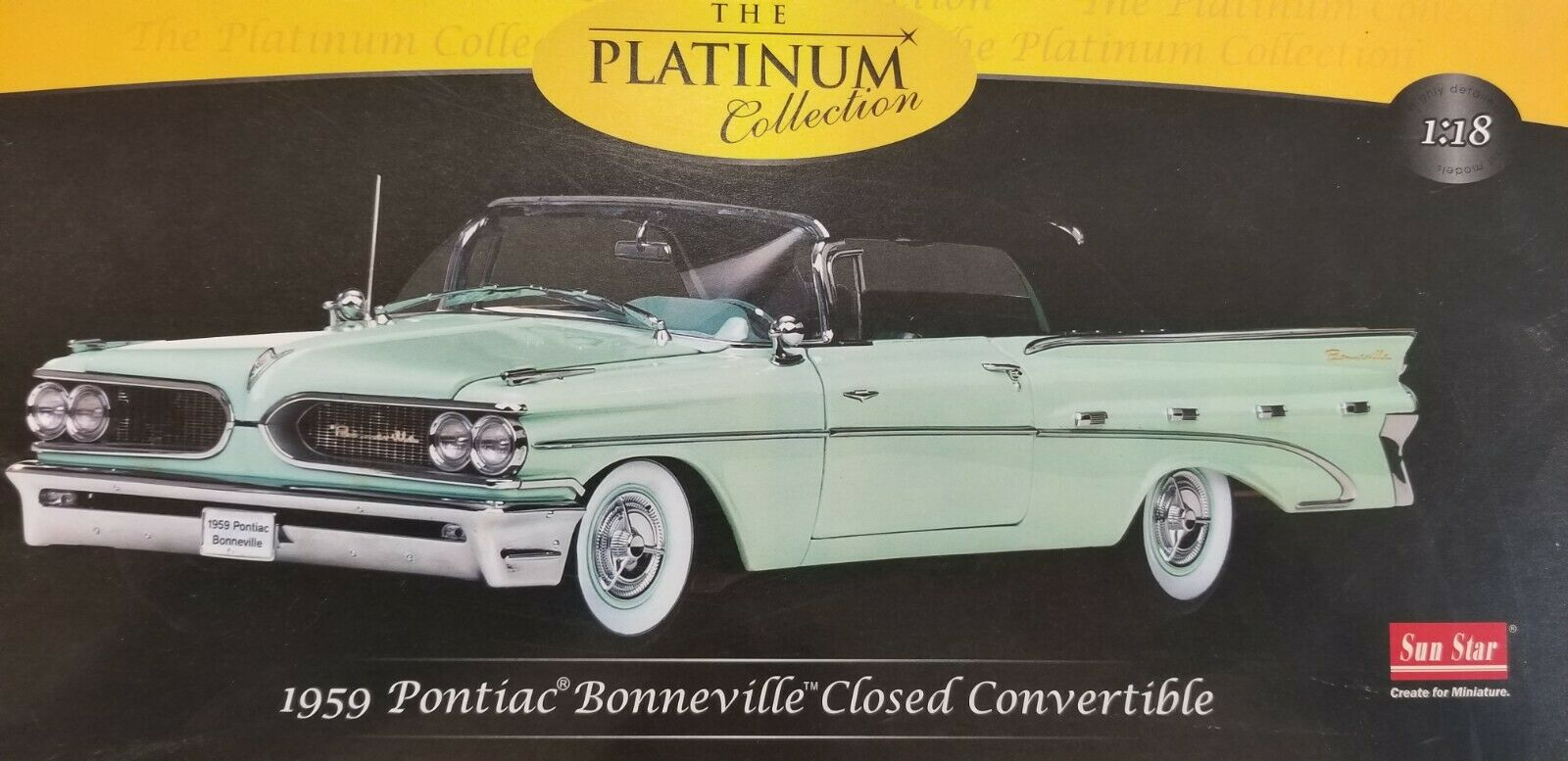 1959 PONTIAC BONNEVILLE closed convertible La Platinum Collection