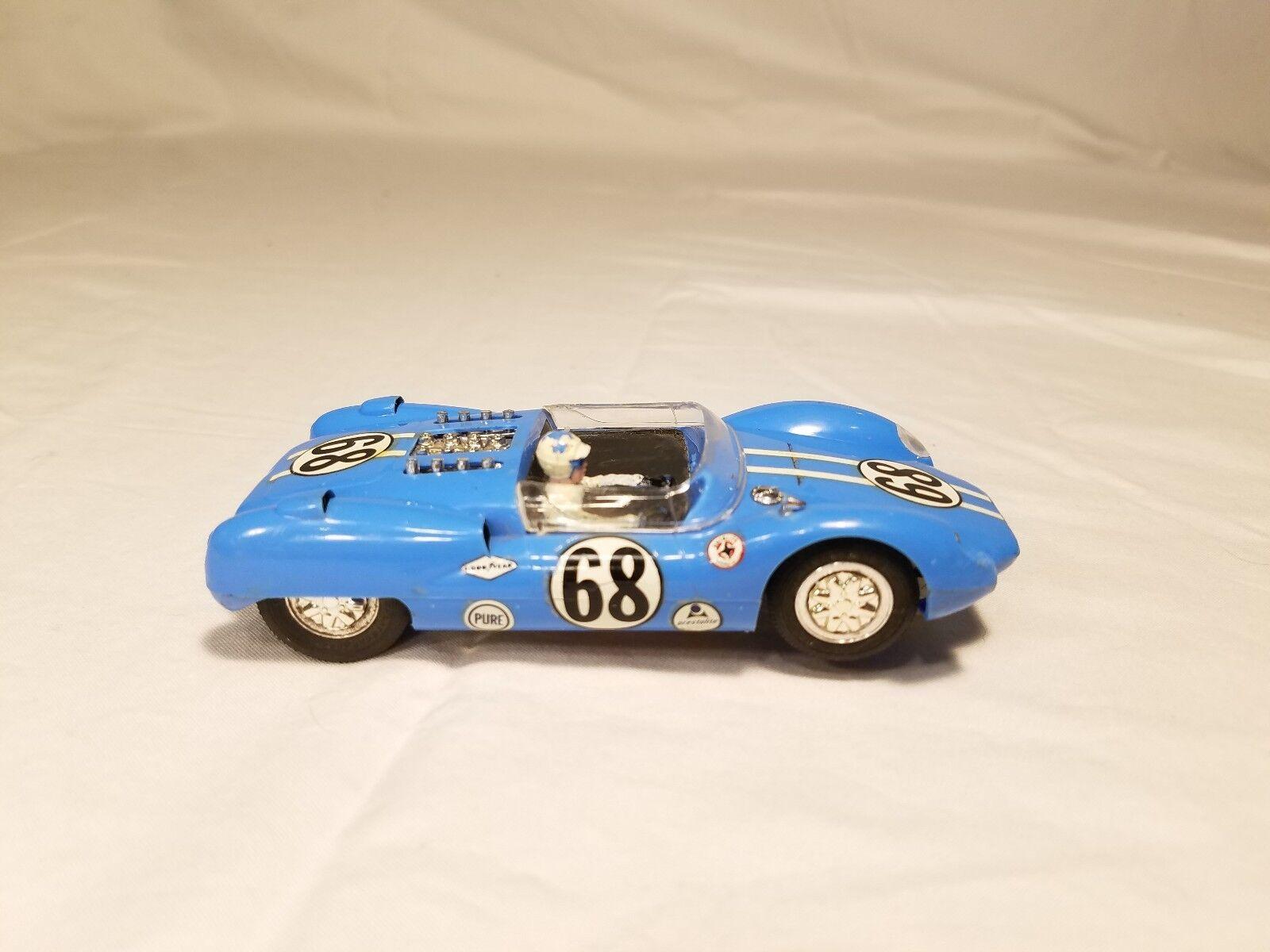 Monogram Slot  voiture Shelby King Cobra  68 bon état non testé fonctionne  magasin de gros