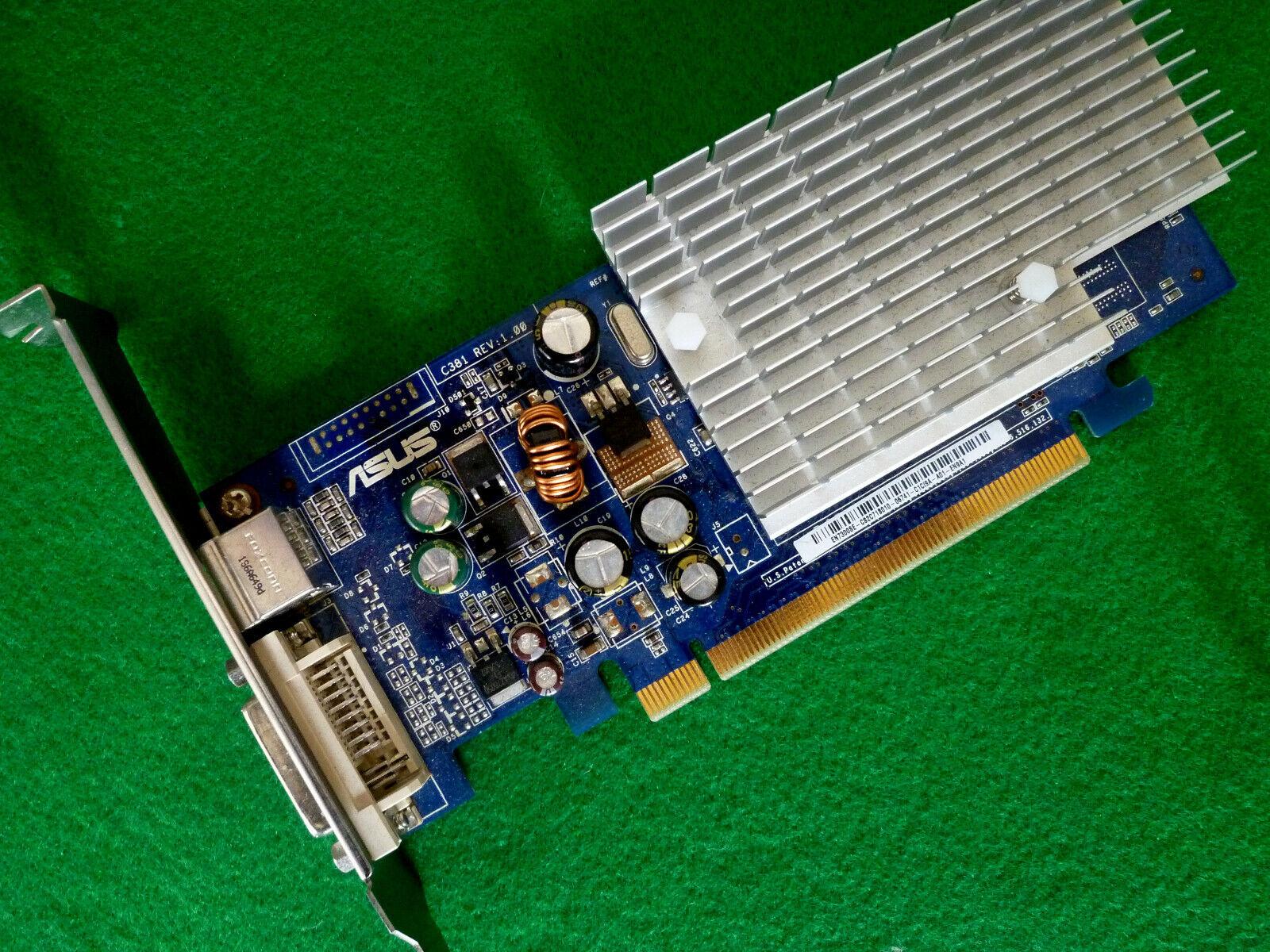 ASUS NVIDIA GeForce 7300 SE 128Mb Video Card EN7300SE (DVI & S -Video only)
