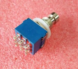 image is loading blue-3pdt-harness-stomp-foot-switch-true-bypass-