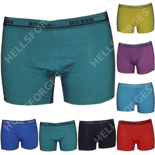 Lot Pack 3 Boxer Homme coton S M L XL XXL men short pas cher no ck v5