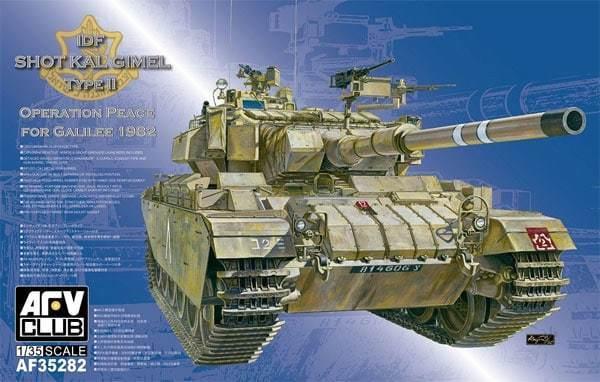 1 35 AFV Club IDF Shot Kal Dalet Type II Operation Peace for Galilee 1982