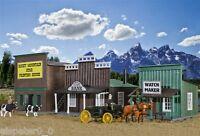 H0 Westernhäuser Ensemble Bank, Modellwelten Bausatz 1:87, Kibri 38508
