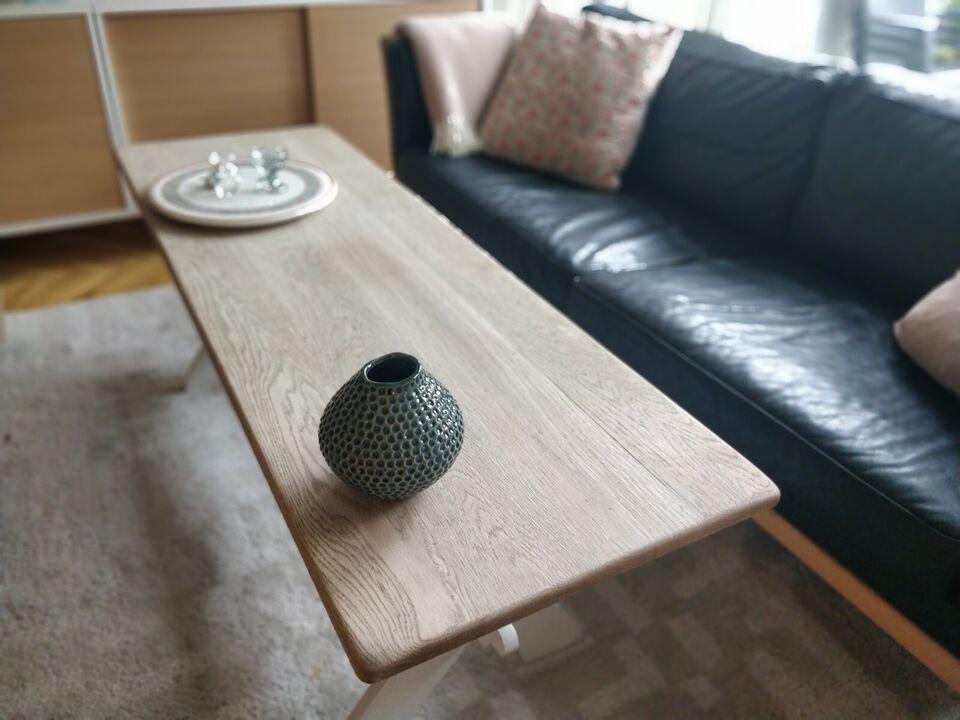 Sofabord, egetræ, b: 48 l: 148 h: 53