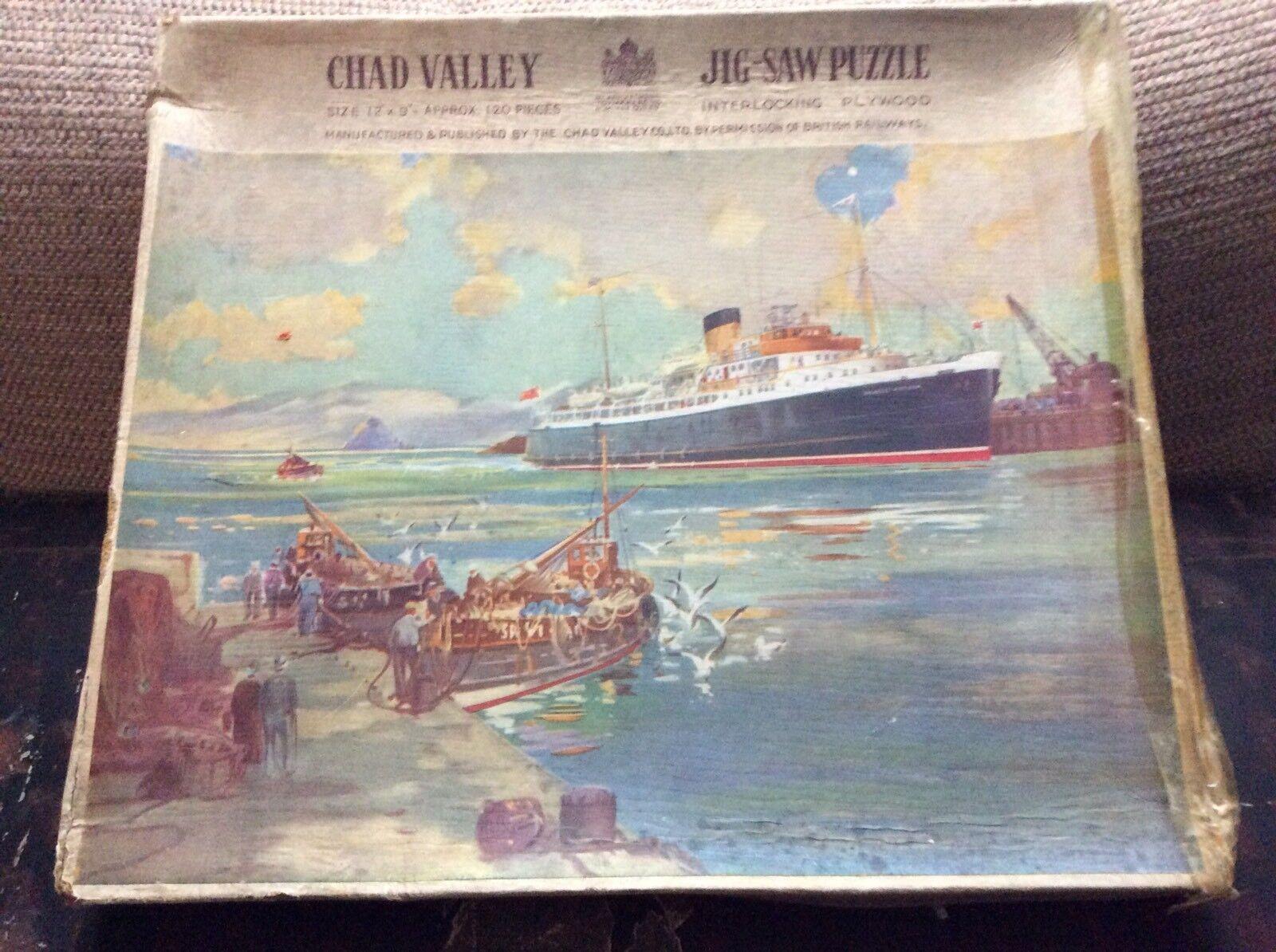 1940s Chad Valley HAND MADE PUZZLE LA PRINCIPESSA Elizabeth