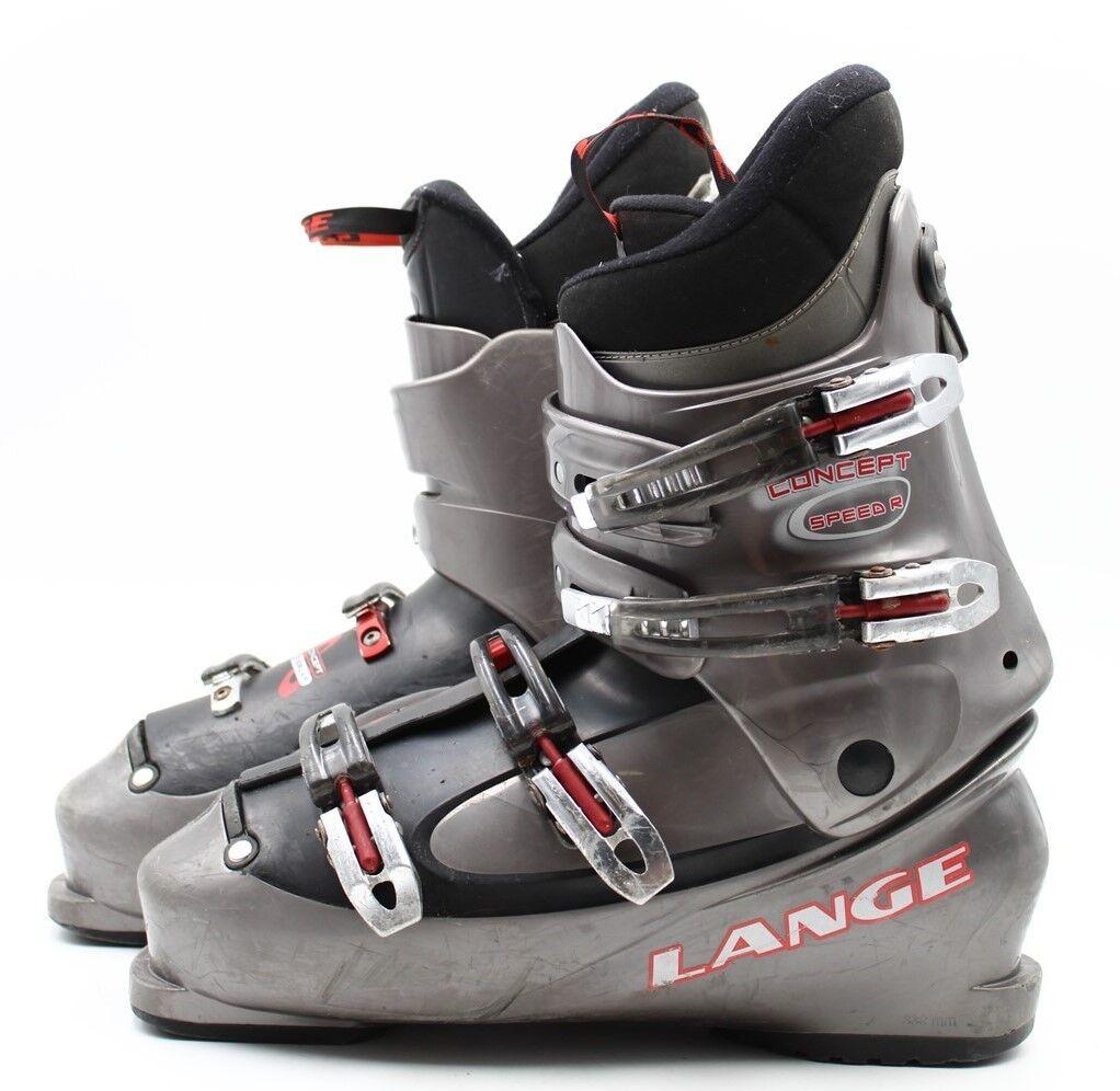 Lange Concept Speed R Adult Ski Boots - Size 14   Mondo 32 Used