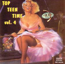 V.A. - TOP TEEN TIME - Volume 4 - 60's Teenage Songs CD