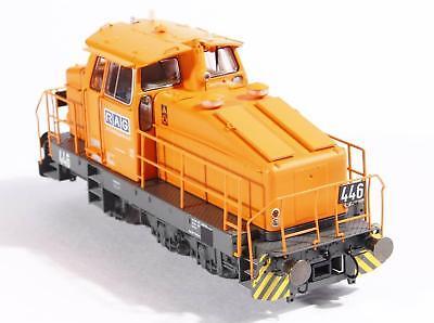 100% Vero Per Märklin Hobbytrade 255003 Locomotiva Diesel, Dhg500 Rag 446 Ep 4-5 Nuovo