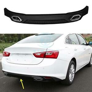 Details About Rear Lip Refit Ing Spoiler Pp Material For Chevrolet Malibu 2016 9th