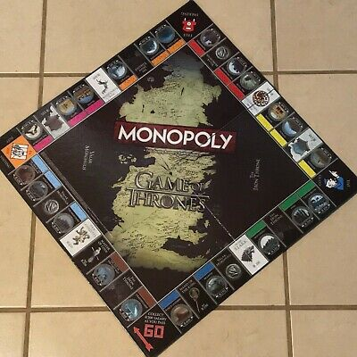 Game of Thrones Board Game Pieces 3D Printed Risk Monopoly Expansion Edition