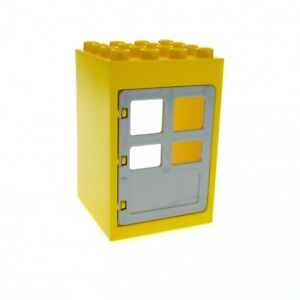 Lego Duplo Item Door Frame w// jail door Red w// white