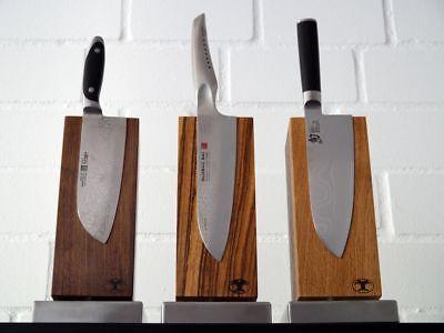 Blockwerk Messerblock Zebrano für 4 Messer