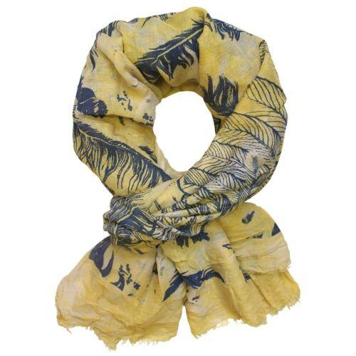 Pañuelo bufanda PAÑUELO paño con motivo del muelle en diferentes colores ferdern azul amarillo