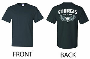 Pocket T-shirt Harley Davidson Biker STURGIS