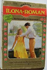 Ilona-Roman Marken Verlag 99 Jeanne Judson ...weil ich dich nicht verlieren will