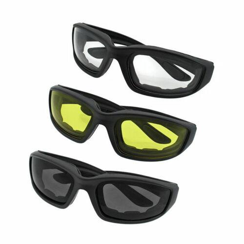 3* Cool Motorrad Reiten Anti Sand Winddicht Brille Sonnenbrille Mode Glasses