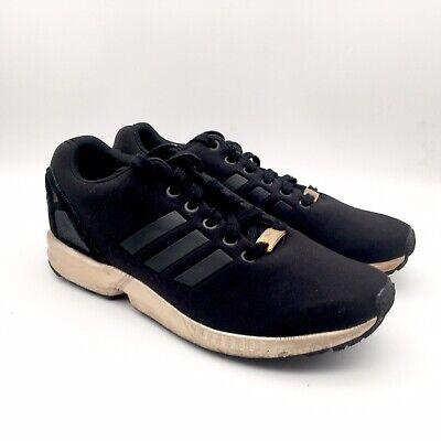 ADIDAS ZX FLUX CORE BLACK COPPER ROSE GOLD S78977 Women's 8.5 LIMITED   eBay