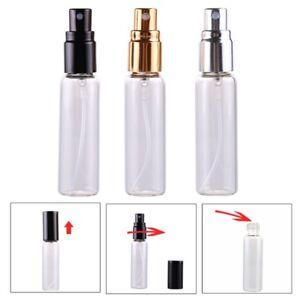 db83372426e6 Details about 1/5/10 Pcs Travel Empty Atomizer Perfume Bottle Aluminium  Glass Spray 10ml New