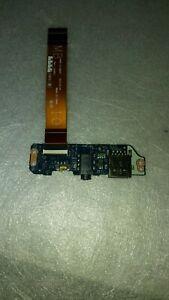 DELL-LATITUDE-E7440-SCHEDA-LOICA-USB-AUDIO-E-INTERRUTTORE-WI-FI-CON-FLAT
