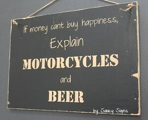 Motorcycles-and-Beer-Sign-Biker-Bar-Garage-Man-Cave-Moto-GP-Harley-Davidson