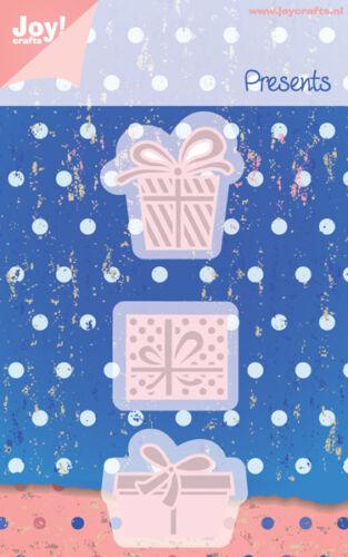 Joy Crafts Die Cutting /& Embossing Regalos Conjunto De 3 6002//0350
