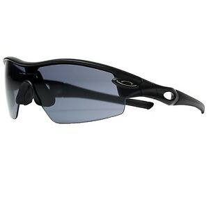 New-Oakley-Sunglasses-Radar-Pitch-Matte-Black-Grey-Lens-Cycling-09-676-Free-Post