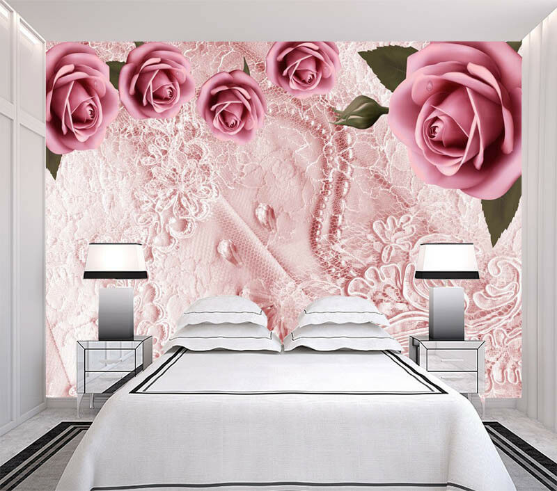 Supple Silk  3D Full Wall Mural Photo Wallpaper Printing Home Kids Decoration