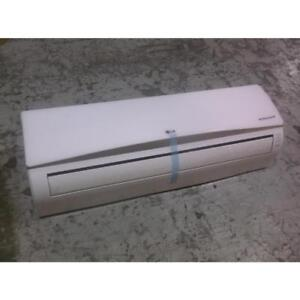 Details about LG LSN091HSV3/ASNW09 9,000 BTU DUCT-FREE INDOOR MINI-SPLIT  HP/FANCOIL 21 5 SEER