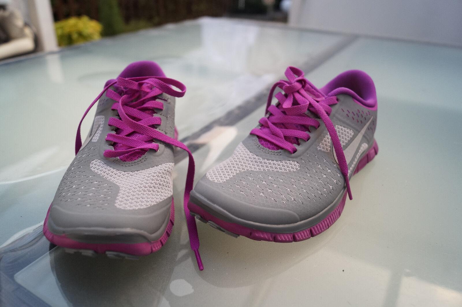 NIKE FREE 4.0 Damen Schuhe Sneaker Gr.36 grau lila NEU #b