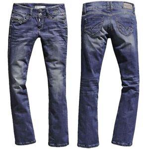 Timezone-Damen-Jeans-Hose-Greta-3819-blue-Bootcut-Neuware-Groesse-waehlbar-LA