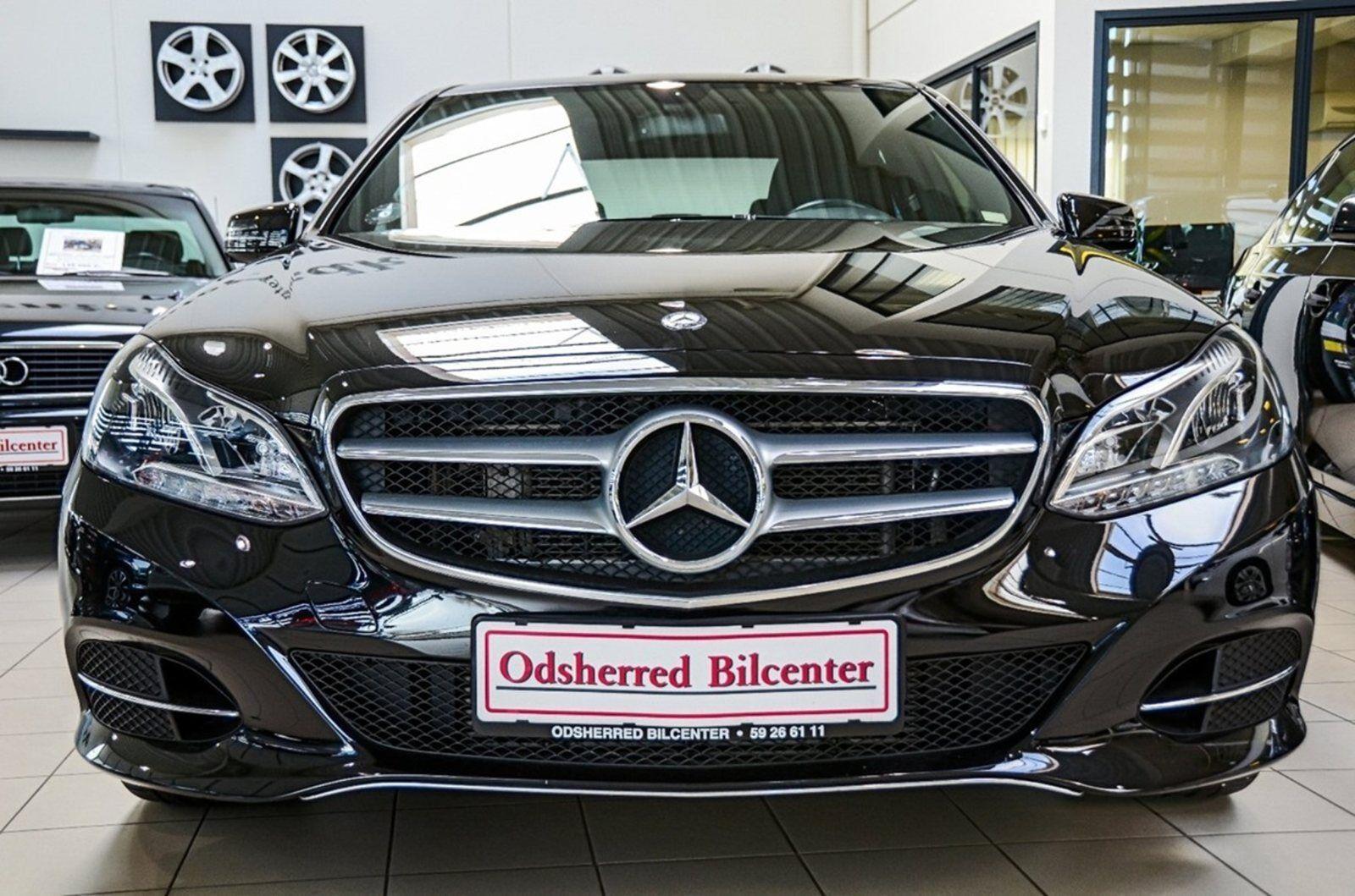 Mercedes E350 3,0 BlueTEC aut. 4d - 2.999 kr.
