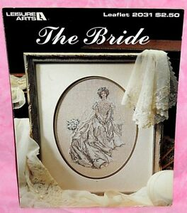 Leisure-Arts-The-Bride-Cross-Stitch-Chart-Leaflet-2031-Wedding-Day